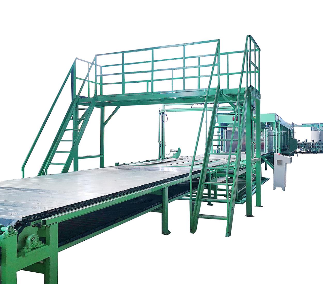聚氨酯高回彈海綿設備14組分海綿發泡生產線